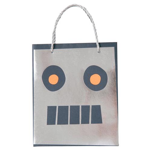 """Пакеты для подарков гостям """"Робот"""", 8 шт.. 170155"""