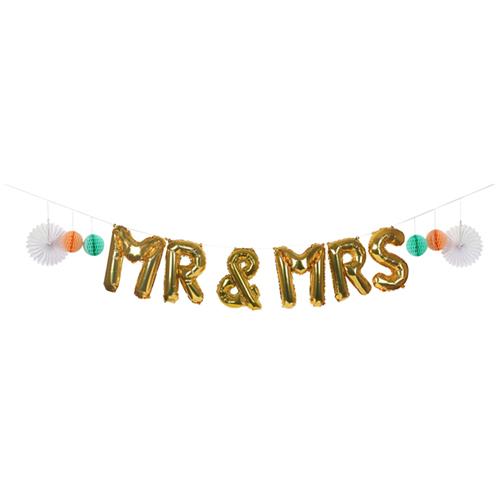 "Воздушные шары ""Мистер и Миссис"" 170515"
