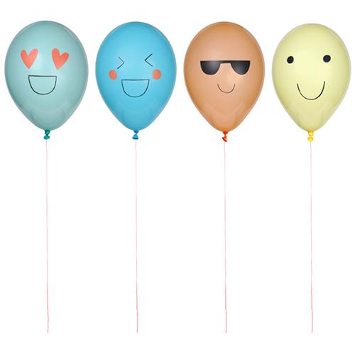 """Воздушные шары """"Эмоджи"""", 8 шт. 171712"""