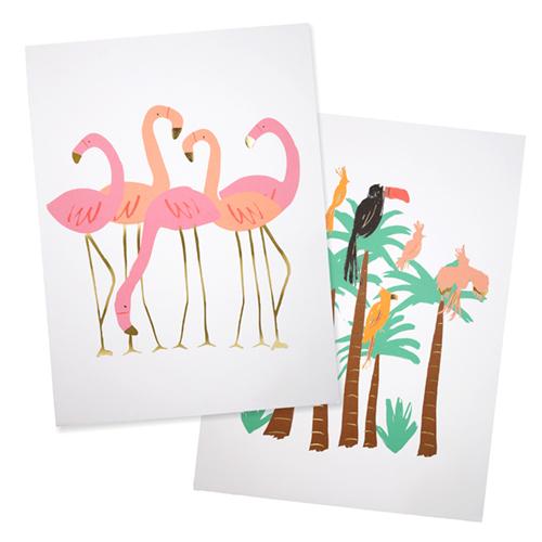 """Принт """"Фламинго"""" 173341"""