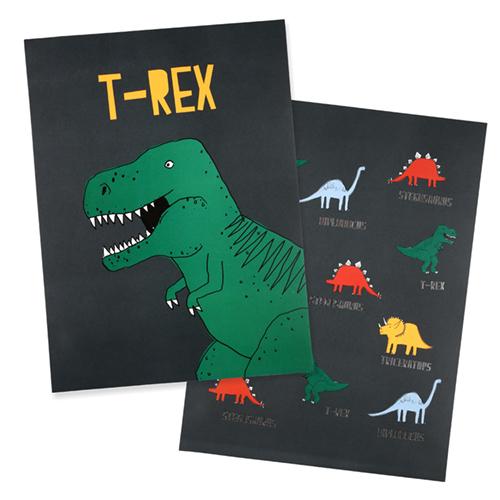 """Принты """"Динозавр"""", 2 шт. 173404"""
