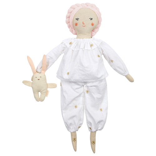 "Костюм для куклы ""Пижама и кролик"" 174862"