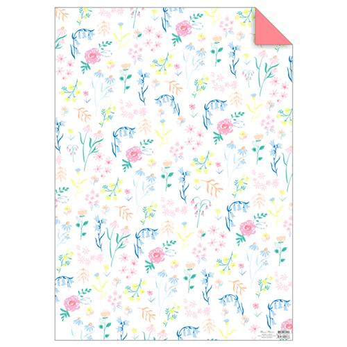 """Упаковочная бумага """"Цветы"""" 175348"""