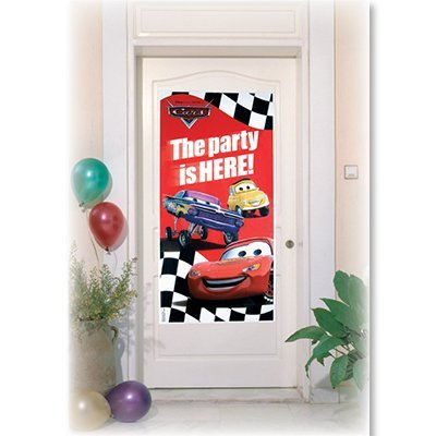 Баннер на дверь Тачки