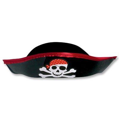 Шляпа Пирата пласт. черная 2001-0829