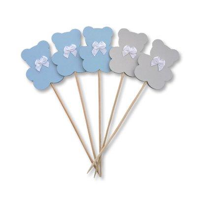 Топперы Мишки голубые 2001-5697