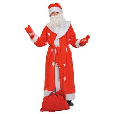 Костюм детский Дед Мороз 2001-6254