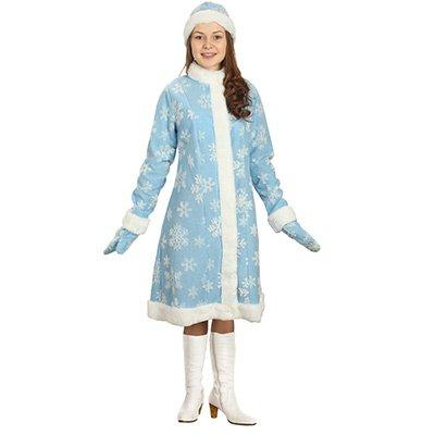 """Женский костюм на новый год """"Снегурочка"""", 46 размер 2001-7062"""