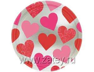 Тарелки большие Ключ к твоему сердцу 2005-0702
