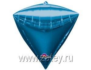 "А 3D АЛМАЗ Б/РИС 17"" Металлик Blue 1208-0297"