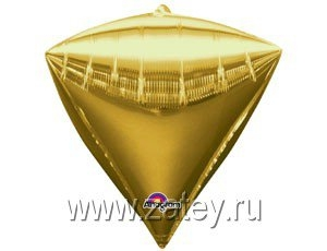 "А 3D АЛМАЗ Б/РИС 17"" Металлик Gold 1209-0033"