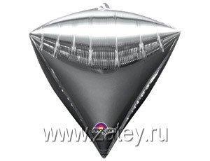 "А 3D АЛМАЗ Б/РИС 17"" Металлик Silver 1209-0032"