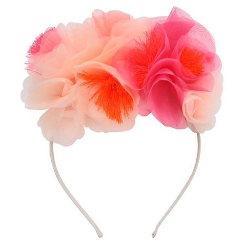 Ободок «Розовые цветы»