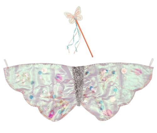 Костюм «Крылья бабочки» с блестками
