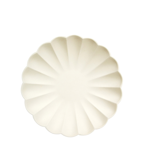 Тарелки кремовые «Эко», мал.