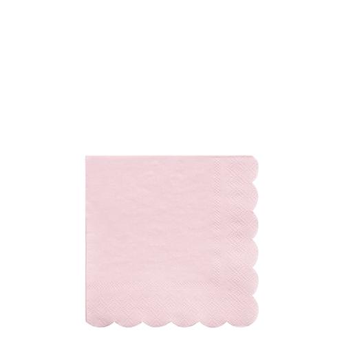 Салфетки розовые «Эко», мал.