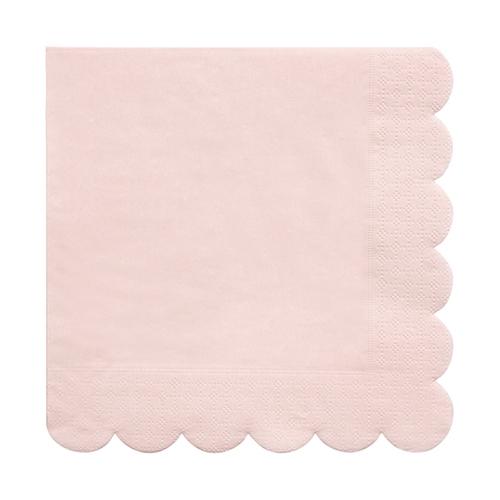 Салфетки темно-розовые «Basic», бол.