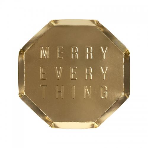Тарелки «Merry Every Thing», 8шт., мал.
