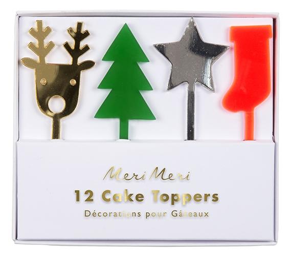 Топперы для торта «Праздник», акриловые