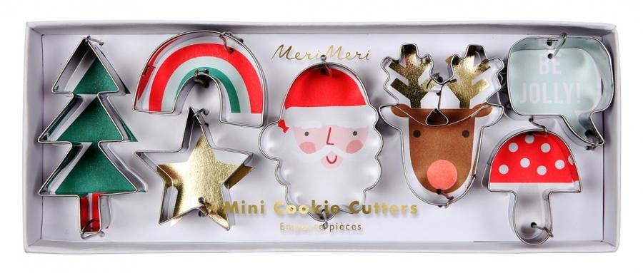 Формочки для печенья «Новогодние персонажи», мини