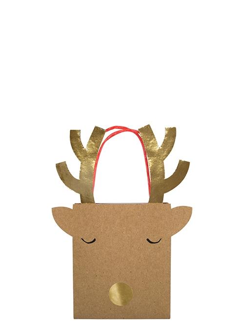 Пакеты для подарков «Северный олень», мал.